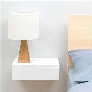 Urbansize Floating Bedside Drawer (H10 x W30 x D20cm)