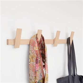 Utology Wooden Coat Rack (12 x 60cm)
