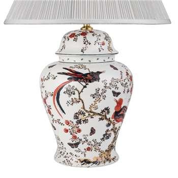 V & A Bird of Paradise Large Temple Jar Lamp Base (42 x 30cm)