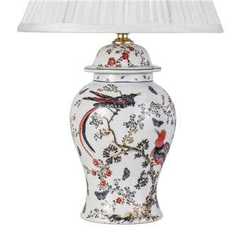 V & A Bird of Paradise Small Temple Jar Lamp Base (30 x 17cm)
