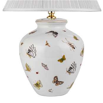 V & A Butterflies Small Lamp Base (28 x 23cm)