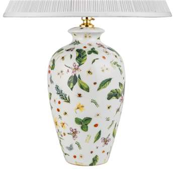 V & A Country Garden Lamp Base - Small (31 x 19cm)