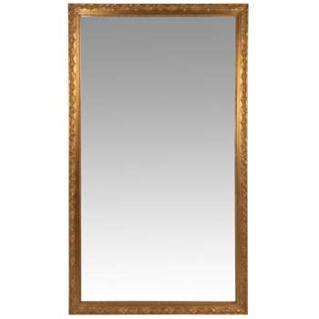 VALENTINE - Gold Carved Mirror (H210 x W120 x D4.8cm)