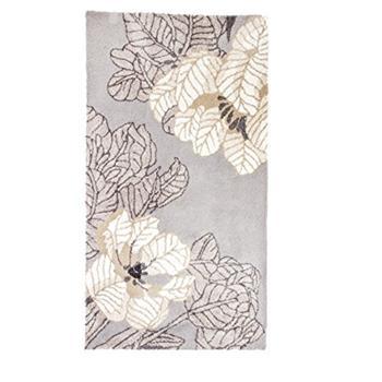 Vallila Microfibre Jardin Runner Rug, Grey (150 x 80cm)