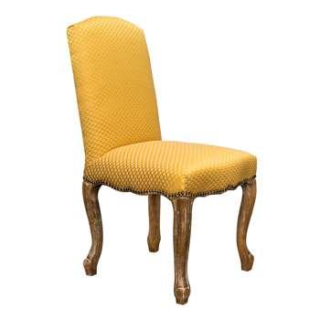 Van Dyke Dining Chair - Gold (98 x 52cm)