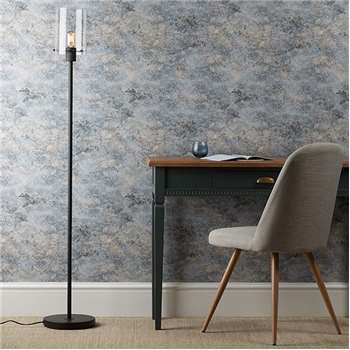 Vancouver Floor Lamp Matted Black (H150 x W25 x D25cm)