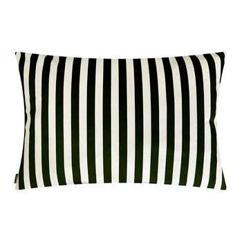Vanilla Fly - Stripe Cushion - Black/Cream (H50 x W70cm)