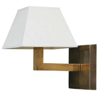 Veldi Wall Lamp, Brass (20 x 16cm)
