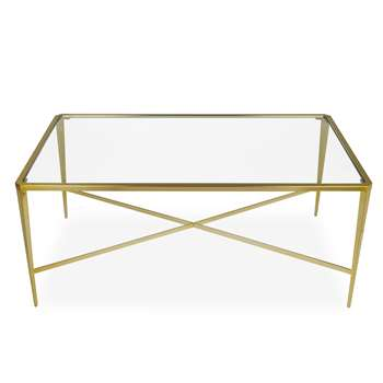 Venezia Gold Coffee Table (Width 110cm)