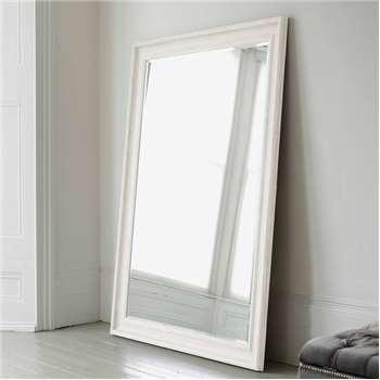 Vermont Oversized Mirror - Antique White (H190 x W140cm)
