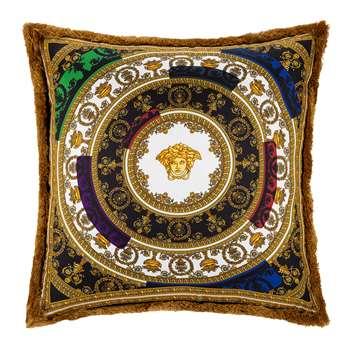 Versace Home - I Love Baroque Silk Cushion - Multi (H50 x W50cm)