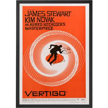 Vertigo, Framed Print Orange (70 x 50cm)