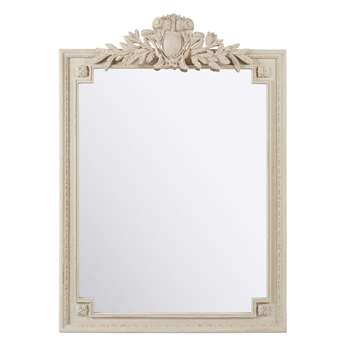 VICTOIRE Mirror with Grey Mouldings (H185 x W120 x D6cm)