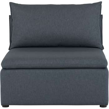 Victor Modular Sofa Single Seat, Lido Blue (74 x 94cm)