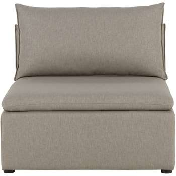 Victor Modular Sofa Single Seat, Portland Grey (45 x 94cm)