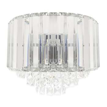 Vienna Chrome Large Wall Light (25.5 x 29.5cm)