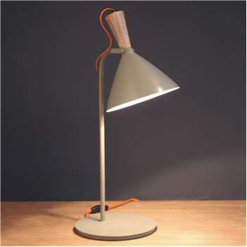 Viktor Grey Table Lamp (H60 x W30 x D30cm)