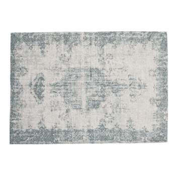 VILLANDRY rug in blue (140 x 200cm)