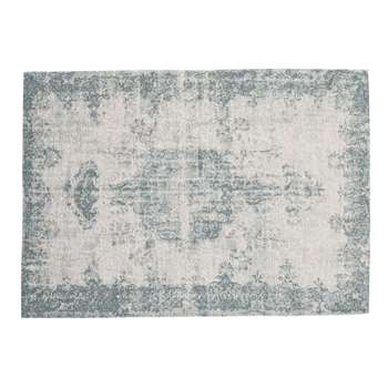 VILLANDRY rug in blue (155 x 230cm)
