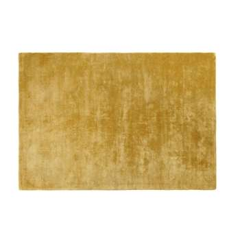 VIRTUOSE Mustard Yellow Tufted Rug (H140 x W200 x D2cm)