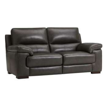 Vision Anthracite Leather Modular Group 8 (H91 x W180 x D98cm)