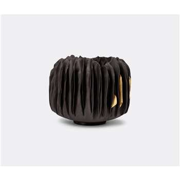 Visionnaire Decorative Objects - Black Corals vase, medium in Black (Height 18cm)