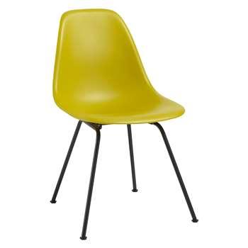 Vitra Eames DSX 43cm Side Chair, Mustard / Black