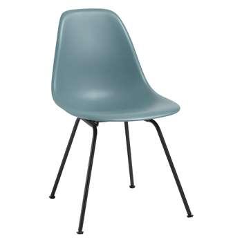 Vitra Eames DSX 43cm Side Chair, Ocean / Black
