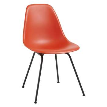 Vitra Eames DSX 43cm Side Chair, Red / Black