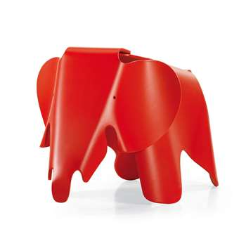 Vitra - Eames Elephant - Classic Red (H41.5 x W78.5 x D41cm)