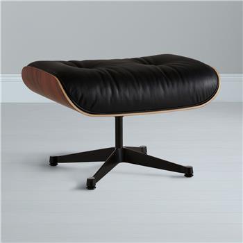 Vitra Eames Lounge Ottoman Black/Pallisander