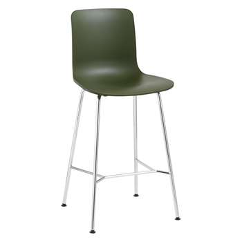 Vitra HAL Bar Chair, Ivy (H100.5 x W49.5 x D49cm)