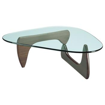 Vitra Noguchi Coffee Table, Walnut (H40 x W128 x D93cm)