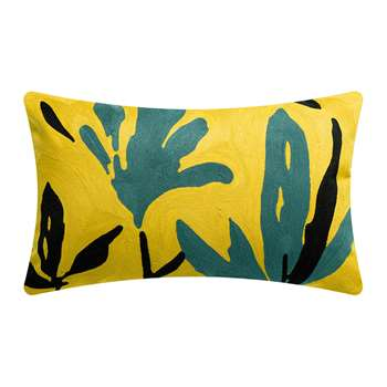Vivaraise - Anime Flora Cushion - Yellow (H40 x W65cm)