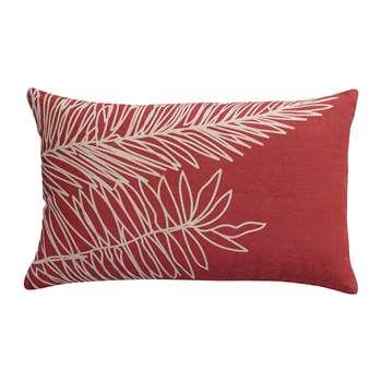 Vivaraise - Palm Leaf Cushion - Rose (H40 x W65cm)
