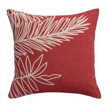 Vivaraise - Palm Leaf Cushion - Rose (H45 x W45cm)
