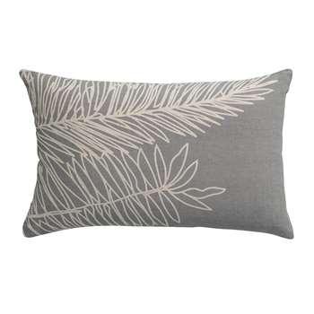 Vivaraise - Palm Leaf Cushion - Thunderstorm (H40 x W65cm)