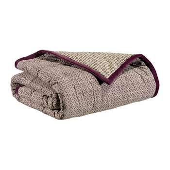 Vivaraise - Tara Bedspread - Purple (H240 x W260cm)