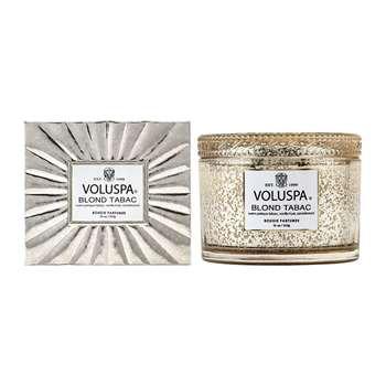 Voluspa - Vermeil Maison Candle - Blond Tabac - 311g (H8 x W10.5 x D10.5cm)