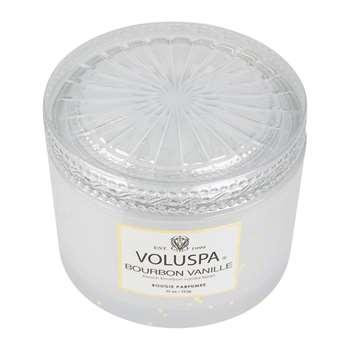 Voluspa - Vermeil Maison Candle - Bourbon Vanille - 311g (H8 x W10.5 x D10.5cm)