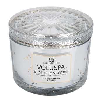 Voluspa - Vermeil Maison Candle - Branche Vermeil - 311g (H8 x W10.5 x D10.5cm)