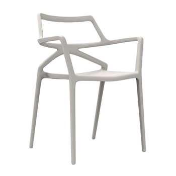Vondom - Delta Chair - Ecru (80 x 59cm)