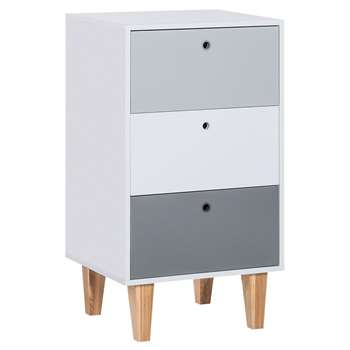 Vox Concept Narrow Chest of Drawers (H96.5 x W53.5 x D45cm)