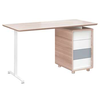 Vox Evolve Computer Desk with Drawers (H78.5 x W136 x D66cm)