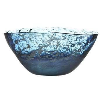 Voyage Elemental Thalassa Bowl, Sapphire (13.5 x 29.5cm)