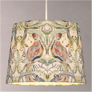 Voyage Netherton Pomegranate Tapered Lampshade, Multi (H22 x W20 x D30cm)