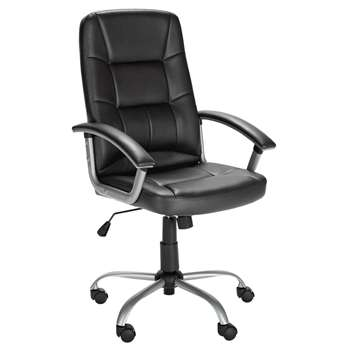 Walker Height Adjustable - Office Chair - Black (110.5 x 45.5cm)