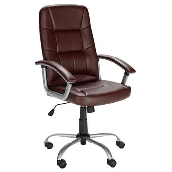Walker Height Adjustable - Office Chair - Brown (110.5 x 45.5cm)