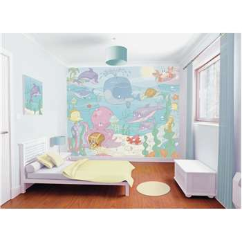 Walltastic Baby Under the Sea Wall Mural