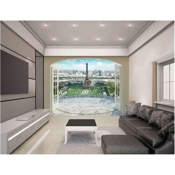 Walltastic Eiffel Tower Paris Wallpaper Mural